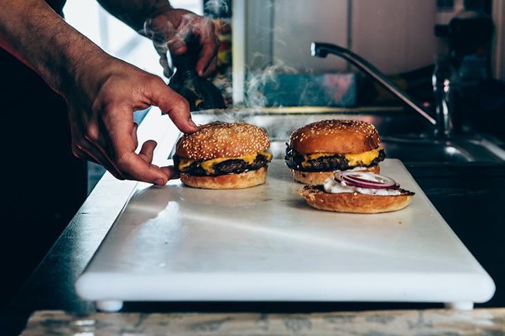 Bastard Burgers på besök